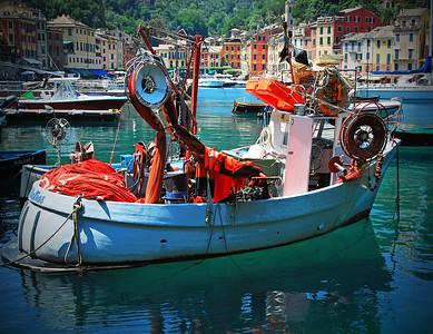 Portofino Fishing Boat