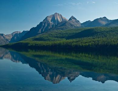 Bowman Lake - Leaning Left