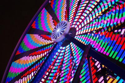 Ferris Wheel - Carnival; time exposure 1