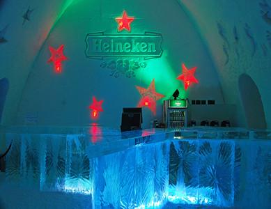 Ice Hotel - Bar (all ice)