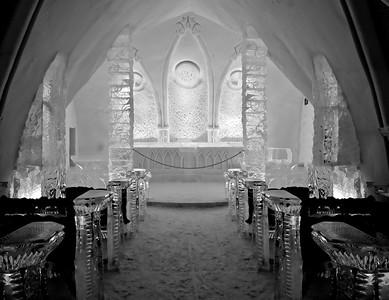 Ice Hotel - Chapel Inside