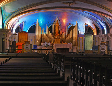 Basilica At St. Anne - Close Up
