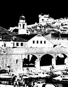 Dubrovnik, The Walled City