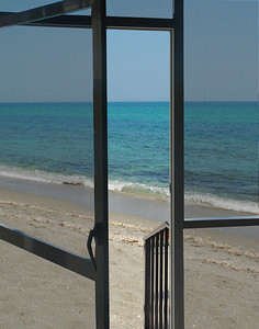 Screen Door To An Ocean Breeze
