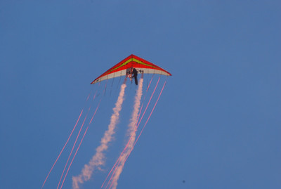 Paralyzed Kite Flyer, Stuart Air Show