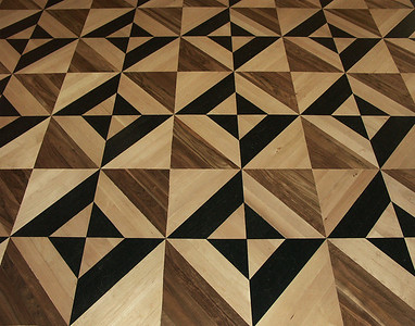 Decorative Wood Floor At The Hermitage - St. Petersburg