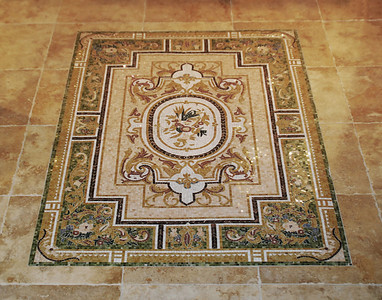 Decorative Tile Carpet