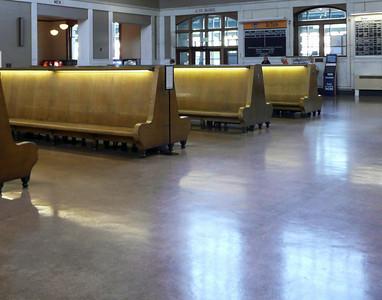 Floor At Denver Railroad Station