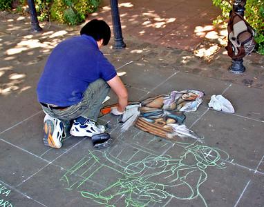 Sidewalk Art - Buenas Aires