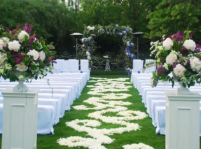 Rose Petal Walkway Of Love
