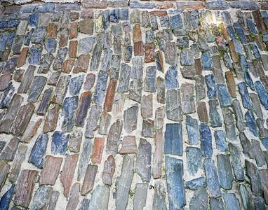 Colorful Stone Walkway
