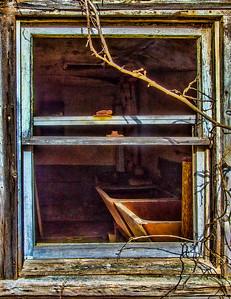 10 Window at Abandoned Barn
