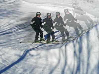 Ski Jump x 5