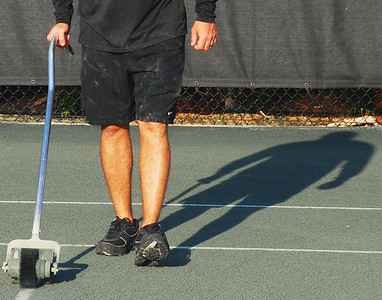 Tennis clean-up