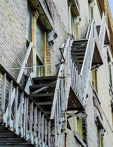 #8 Apartment Fire Escape - Texas