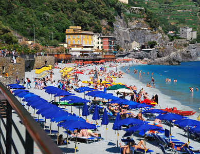 A Hot Day At The Italian Riviera