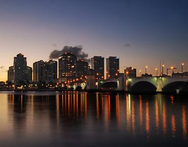 Bridge & Skyline - WPB