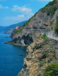 Continuing Coastline At Cinque Terre