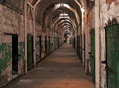 Eastern State Penitentiary - Prison Hallway