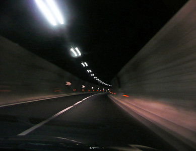 Speeding Through European Tunnel