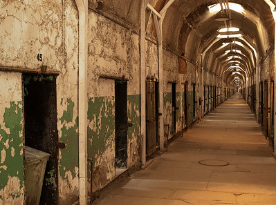 Eastern State Penitentiary - Hallway-View To Right