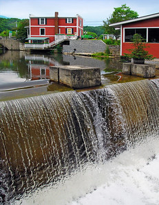 Water Flow At Kimball Grist Mill