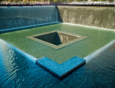 Water Flow Into Emptyness - NYC 9/11 Memorial