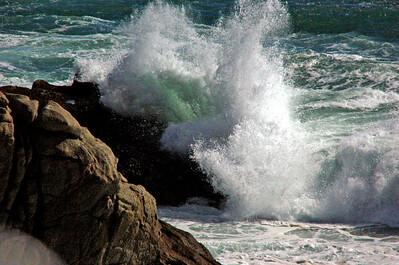 Crashing Waves, Vina Del Mar, Chile