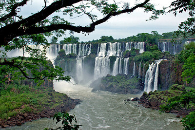 Framed Water Falls, Iguazu