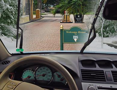 Car - Thru Security - Welcome Sign