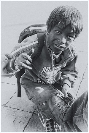 Rob K Shoeshine Boy Cusco jpg