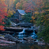 Glade Creek Grist Mill in Babcock State Park, West Virginia.
