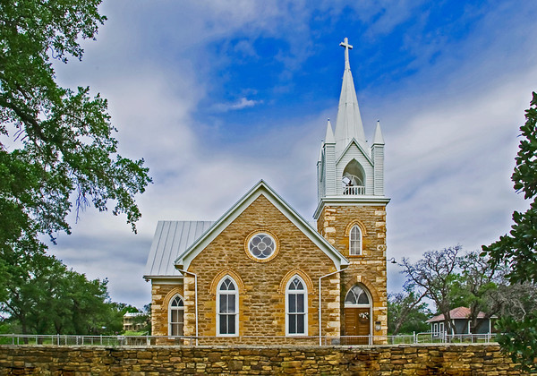 Hilda United Methodist Church, Mason, Texas