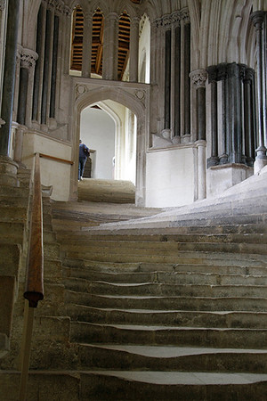 Ron - Stairway - Wells Cathedral
