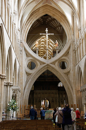 Ron -  Arches, Wells Cathedral