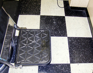 Barber's floor