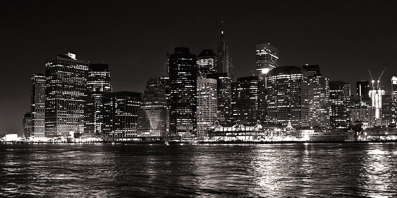 BW-The City that Never Sleeps-Stephen Nicholson