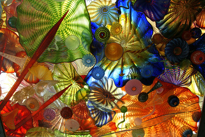 Chihuli ceiling