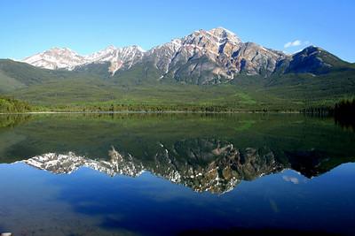 Pyramid Lake, Jasper Canada