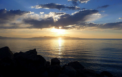 The Great Salt Lake, UT