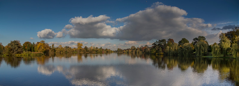 Lake At Heaver Castle