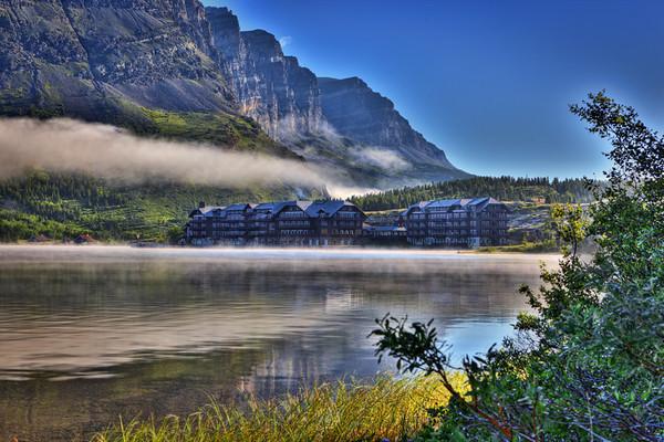 Many Glacier Hotel<br /> Glacier NP