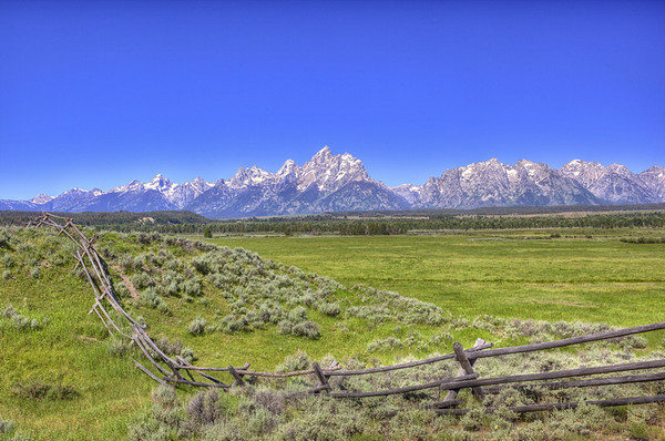 Cathedral Valley Tetons