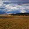 Rainbow in Pelican Valley