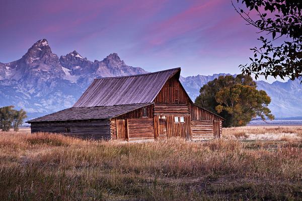 Moulton Barn at Daybreak
