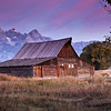 Moulton Barn at Daybreak