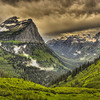 The Going to the Sun Highway<br /> by Wayne Tabor<br /> Landscapes<br /> Score: 12