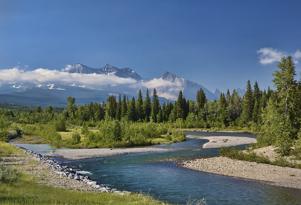 Belly River, Canada