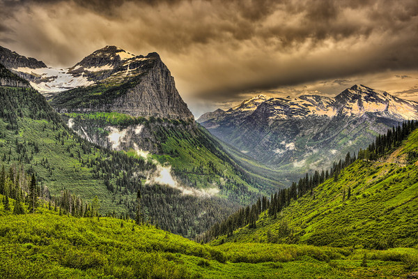 Going To the Sun Highway<br /> Glacier NP