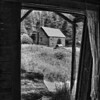 View Through the Window<br /> by Wayne Tabor<br /> Black and White<br /> Score 12